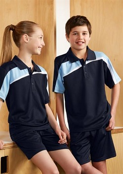 Biz Velocity Kids Polo P111KS