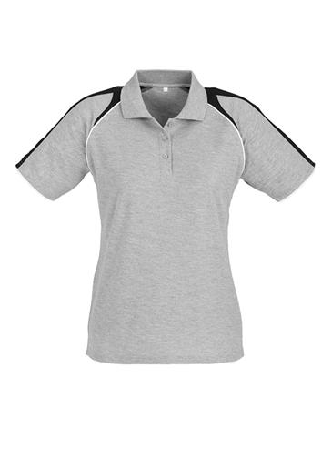 Biz Triton Cotton-Backed Ladies Polo P225LS 2