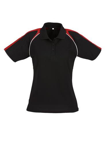 Biz Triton Cotton-Backed Ladies Polo P225LS 9