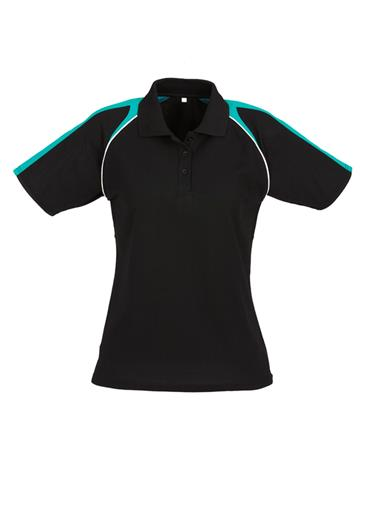Biz Triton Cotton-Backed Ladies Polo P225LS 10