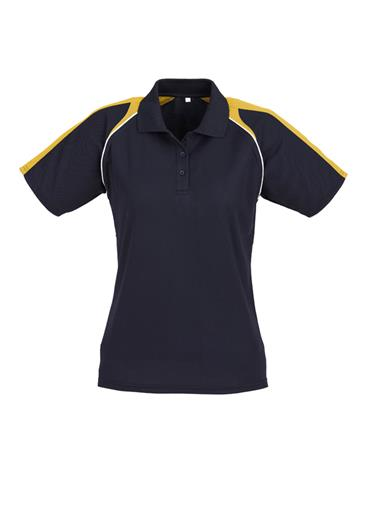 Biz Triton Cotton-Backed Ladies Polo P225LS 6