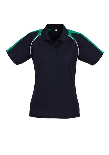 Biz Triton Cotton-Backed Ladies Polo P225LS 5