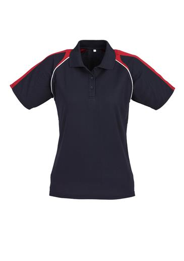 Biz Triton Cotton-Backed Ladies Polo P225LS 4