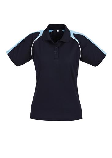 Biz Triton Cotton-Backed Ladies Polo P225LS 3