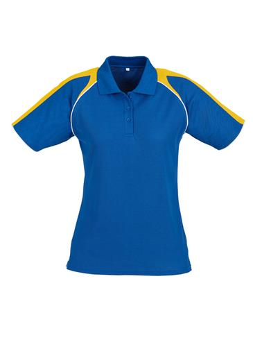 Biz Triton Cotton-Backed Ladies Polo P225LS 7
