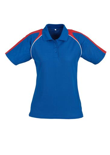 Biz Triton Cotton-Backed Ladies Polo P225LS 8