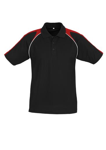 Biz Triton Cotton-Backed Mens Polo P225MS 9