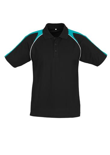 Biz Triton Cotton-Backed Mens Polo P225MS 10