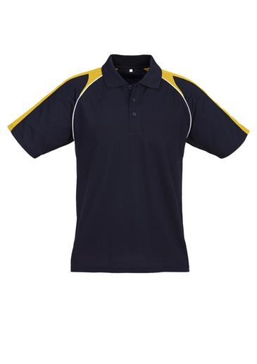 Biz Triton Cotton-Backed Mens Polo P225MS 6