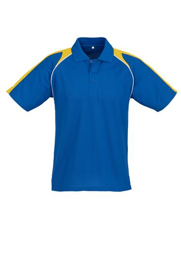 Biz Triton Cotton-Backed Mens Polo P225MS 7