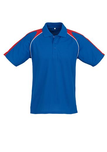 Biz Triton Cotton-Backed Mens Polo P225MS