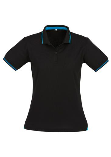 Biz Jet Cotton-Backed Ladies Polo P226LS