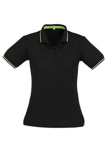 Biz Jet Cotton-Backed Ladies Polo P226LS 2