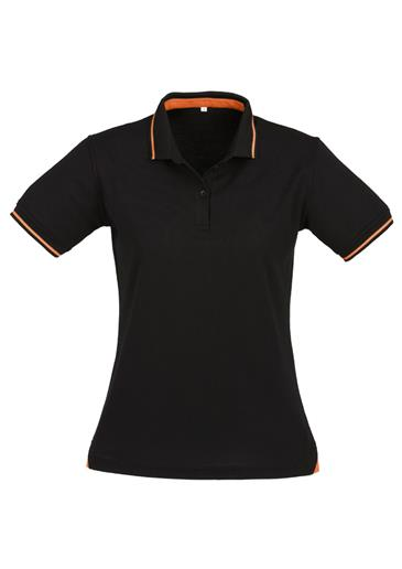 Biz Jet Cotton-Backed Ladies Polo P226LS 3