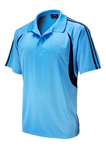 Biz Flash Mens Snag Resistent Short Sleeve Polo P3010 2