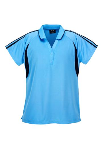 Biz Flash Ladies Snag Resistent Short Sleeve Polo P3025 2
