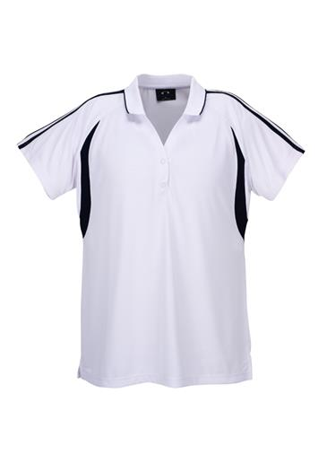 Biz Flash Ladies Snag Resistent Short Sleeve Polo P3025 5