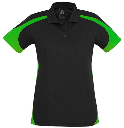 Biz Talon Ladies Mesh Polo P401LS 3