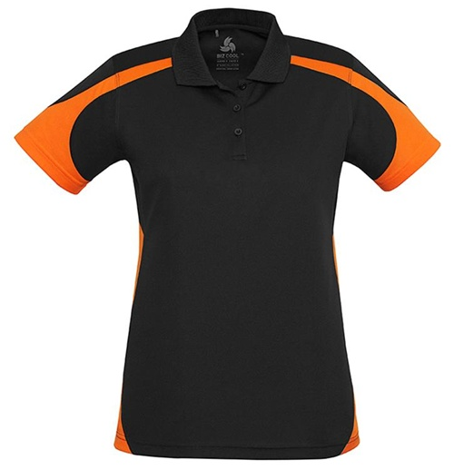 Biz Talon Ladies Mesh Polo P401LS 4