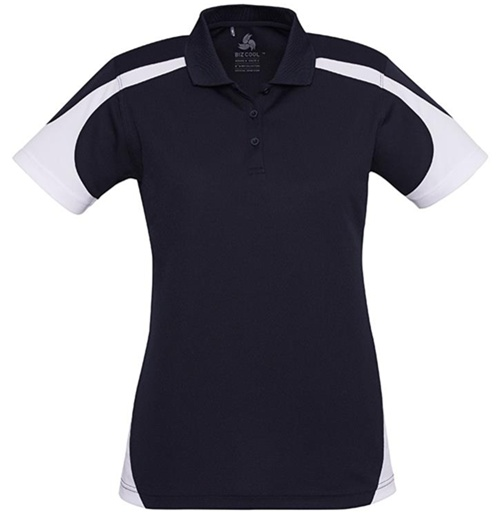 Biz Talon Ladies Mesh Polo P401LS 8
