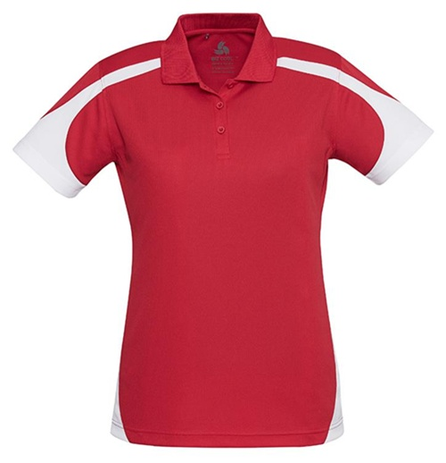 Biz Talon Ladies Mesh Polo P401LS 9