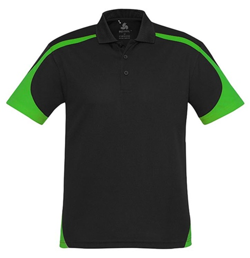 Biz Talon Mens Mesh Polo P401MS 3