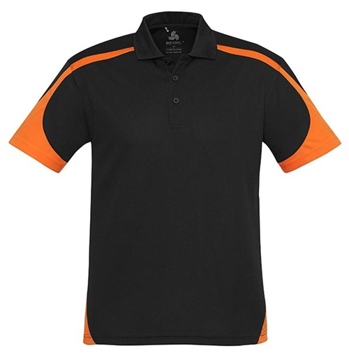 Biz Talon Mens Mesh Polo P401MS 4