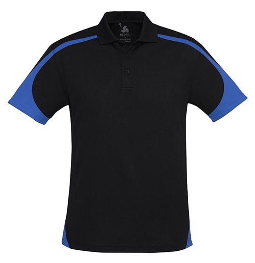 Biz Talon Mens Mesh Polo P401MS 7