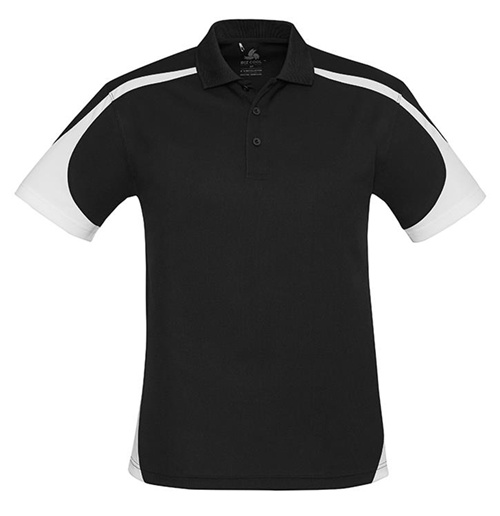 Biz Talon Mens Mesh Polo P401MS 5