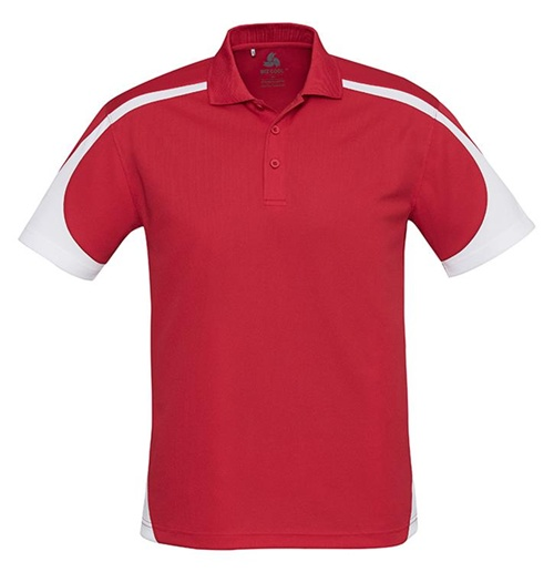 Biz Talon Mens Mesh Polo P401MS 9
