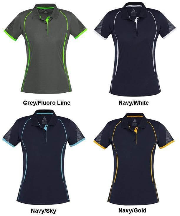 Biz Razor Ladies Sports Polo P405LS 2