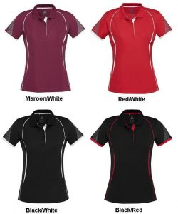 Biz Razor Ladies Sports Polo P405LS 3