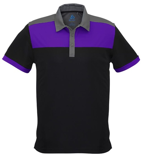 Biz Charger Mens Sports Polo P500MS 5