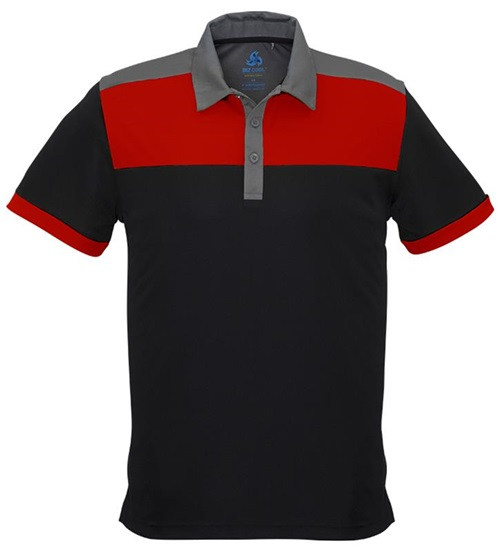 Biz Charger Mens Sports Polo P500MS 6