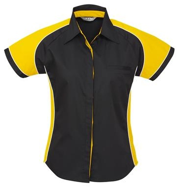 Biz Nitro Ladies Short Sleeve Shirt S10122 – Clearance 3