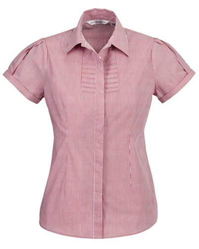 Biz Berlin Ladies Short Sleeve Shirt S121LS 7