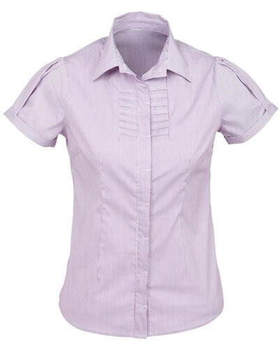 Biz Berlin Ladies Short Sleeve Shirt S121LS 5