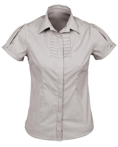 Biz Berlin Ladies Short Sleeve Shirt S121LS 6