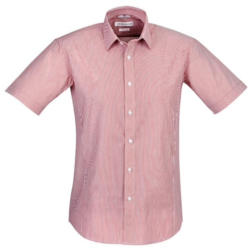 Biz Berlin Mens Short Sleeve Shirt S121MS 7