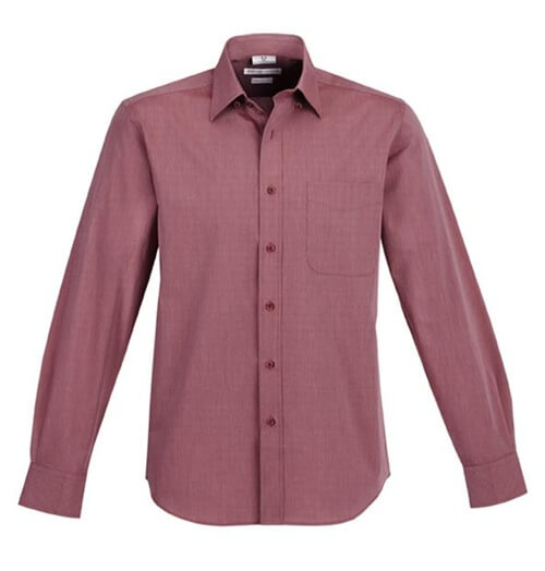 Biz Chevron Mens Long Sleeve Shirt S122ML 2