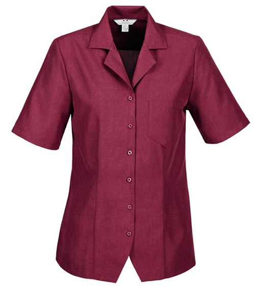 Biz Oasis Plain Ladies Overblouse S265LS 7