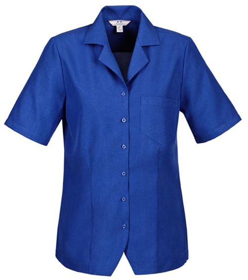 Biz Oasis Plain Ladies Overblouse S265LS 4