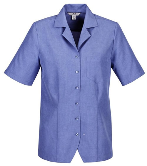 Biz Oasis Plain Ladies Overblouse S265LS 2