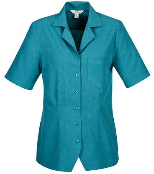 Biz Oasis Plain Ladies Overblouse S265LS 6