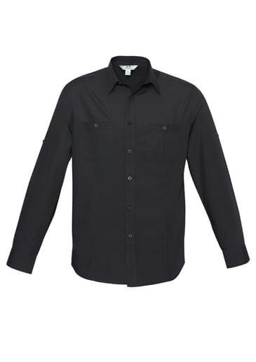 Biz Bondi Mens Long Sleeve Shirt S306ML 2