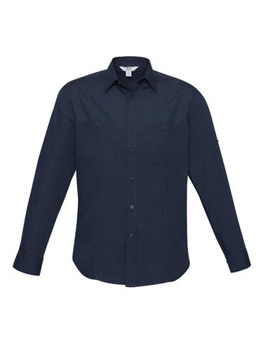 Biz Bondi Mens Long Sleeve Shirt S306ML 5