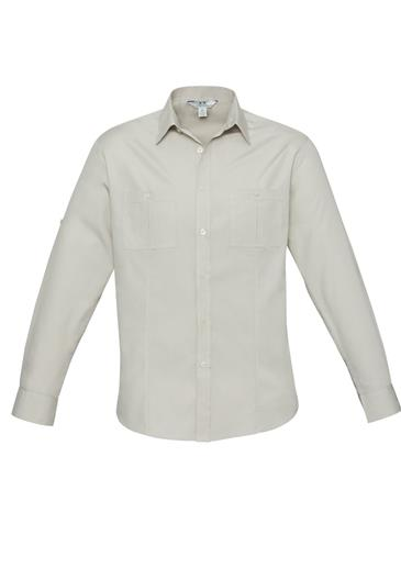 Biz Bondi Mens Long Sleeve Shirt S306ML 3