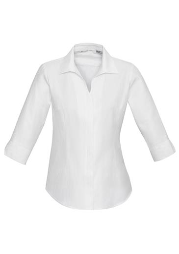 Biz Preston Ladies 3/4 Sleeve Shirt S312LT 3