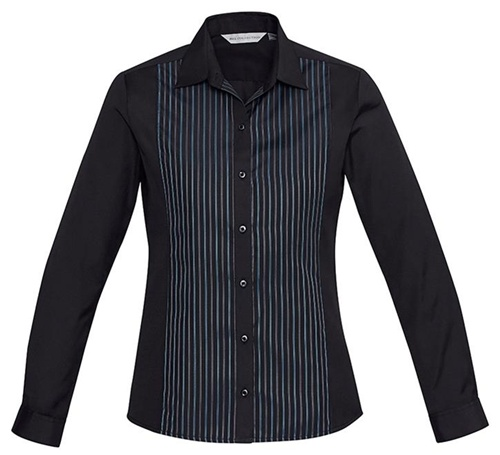 Biz Reno Panel Ladies Long Sleeve Shirt S414LL 4