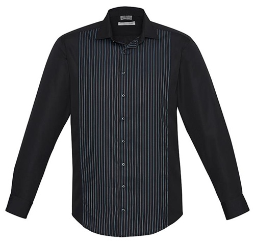 Biz Reno Panel Mens Long Sleeve Shirt S414ML 4